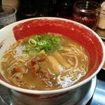 徳島ラーメン 麺王 - かた麺630円