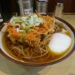 57853147 - 野菜かき揚げ蕎麦+温玉