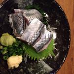 まるゐや - 秋刀魚の刺身¥580