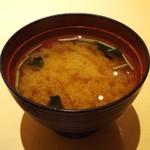 雛鮨 - 味噌汁