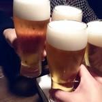 ル・デパー - 乾杯!!