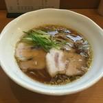 中華そば うえまち - 中華そば醤油(780円)