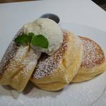 幸せのパンケーキ - 幸せのパンケーキ1100円(税込)