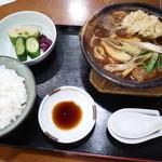 57864123 - 天ぷらにこみ定食