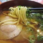京 聖護院 早起亭うどん - 麺はこんな感じです
