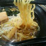 福満園 - ラーメンはスープにもう少しコクやまろやかさがほしい。台湾ラーメンの方が良かったかな?