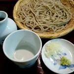 蕎都 - 料理写真:『せいろ』¥750-