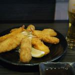 揚物語 - クシ盛りにはビールでしょう~☆