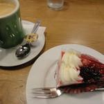 喫茶&軽食 ブリヤン カフェ - 5種ベリーのムース