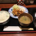 和 - 豚ショウガ焼定食(900円)