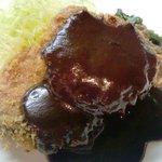 マメゾン - 料理写真:牛フィレ肉のカツレツ デミグラスソース