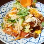 ワイズキッチン - 目玉焼きサラダ