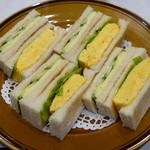 はまの屋パーラー - タマゴ & チーズ