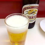 57874721 - 「瓶ビール」(小350円)。