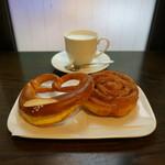 リンデ - 料理写真:プレッツェル/アップルベルリーナ