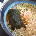 みちのく食事処 - たぬきうどん(稲庭)