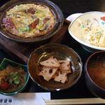広島の旬 なかたに - (2008.3)鰻柳川風定食