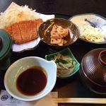 広島の旬 なかたに - (2008.3)とんかつ定食