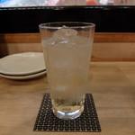 北悠 - 濃厚梅酒 ソーダ割り
