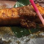 57878397 - カジキマグロの焼魚。火入れが絶妙。