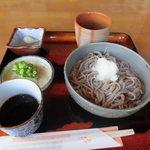 カフェ モンテローザ - おろし蕎麦700円