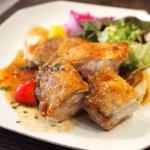 ラ コッペ - Bランチ 鶏のカリカリソテー
