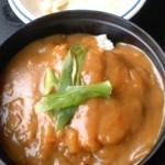 レストラン きらり - きらりで、カツカレー丼。570円。