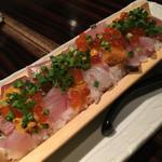 おくどさん - 名物のっけ寿司 1200円