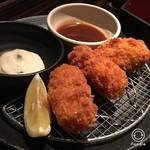 おくどさん - 牡蠣フライ780円