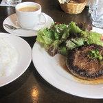 味工房夢魚 - ハンバーグステーキ