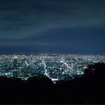 地魚屋台 とっつぁん - 2016/10/21  生駒山からの夜景♡