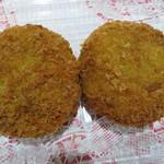 肉の日山 - 料理写真:メンチ