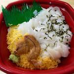 海鮮丼家 丼丸 - ウニ縁側丼並盛¥540
