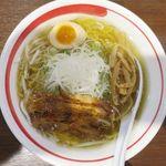 麺部屋 綱取物語 - 塩ラーメンのアップ