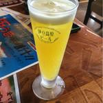 伊豆高原ビール本店レストラン - 甘夏スパークリング¥320