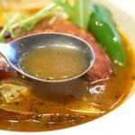 イエローカンパニー - レベル3・中辛のスープはこんな感じ