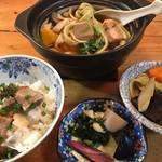 いちの家 - 富岡名物おっきりこみうどん鍋(ランチ)