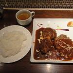 キッチン ハセガワ - ハーフ&ハーフ定食