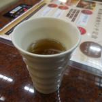 麻布 韓日館 - コーン茶