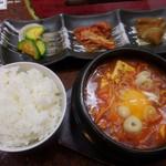 麻布 韓日館 - スンドーフチゲセット