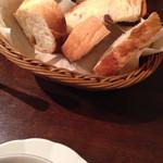 57885508 - お通しのパン(たべかけ)