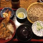 奥藤 - 料理写真:蕎麦&天丼セット
