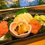 浜寿司 - お造り盛り合わせ