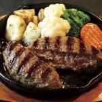 恵比寿 鐵玄 - ラムハンバーグ定食(ランチ)