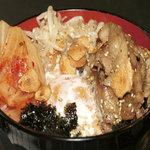恵比寿 鐵玄 - 韓国風スタミナスタミナ豚丼(ランチ)