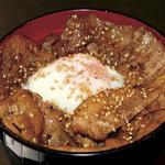 恵比寿 鐵玄 - 十勝風豚丼(ランチ)