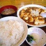 5789372 - ランチの麻婆豆腐