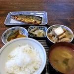 みち草亭 - 焼魚定食 700円
