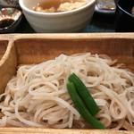 めん割烹なか川 - 相田みつをオススメ御膳のお蕎麦