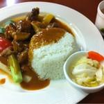 HOPESTAR 浦东机场店 - Curry Chicken Set Meals(チキンカレーセット)